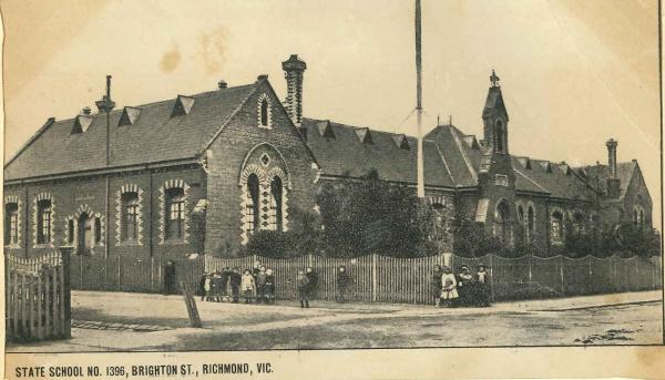 Resized image of the old school